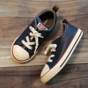 Kids leather Converse